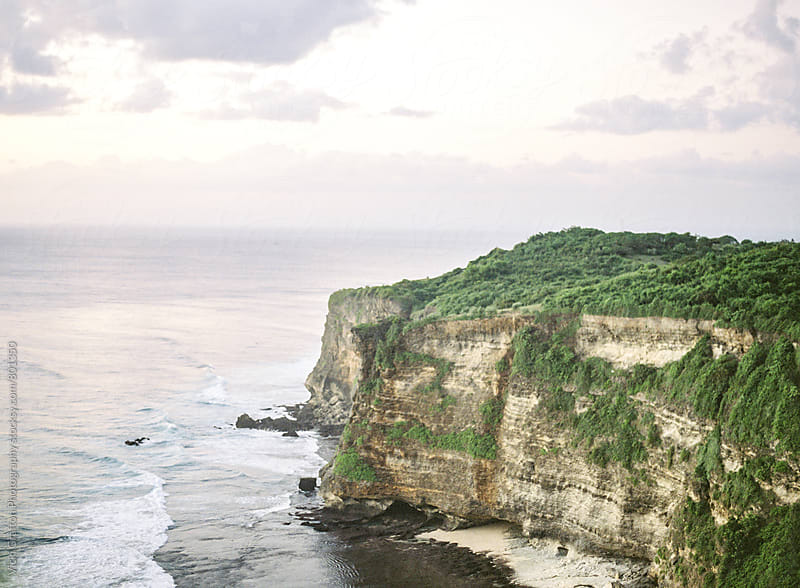 Uluwatu Cliffs Indonesia Bali  by Vicki Grafton Photography for Stocksy United