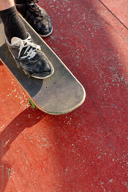 Skate boarder by Bratislav Nadezdic for Stocksy United