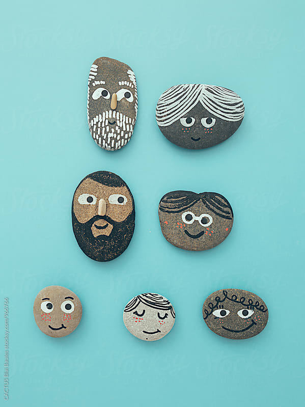 Family set by Blai Baules for Stocksy United