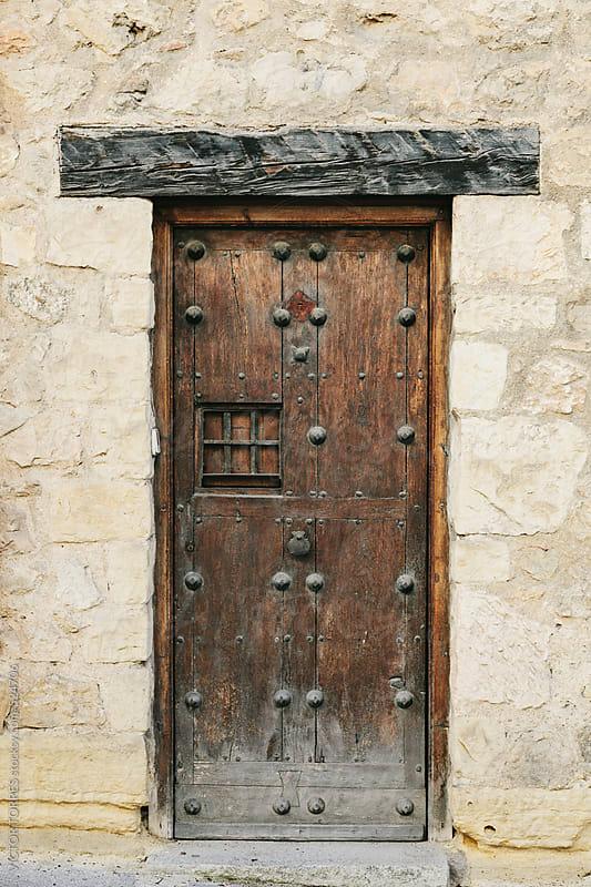 Antique Rural Wooden Door by VICTOR TORRES for Stocksy United