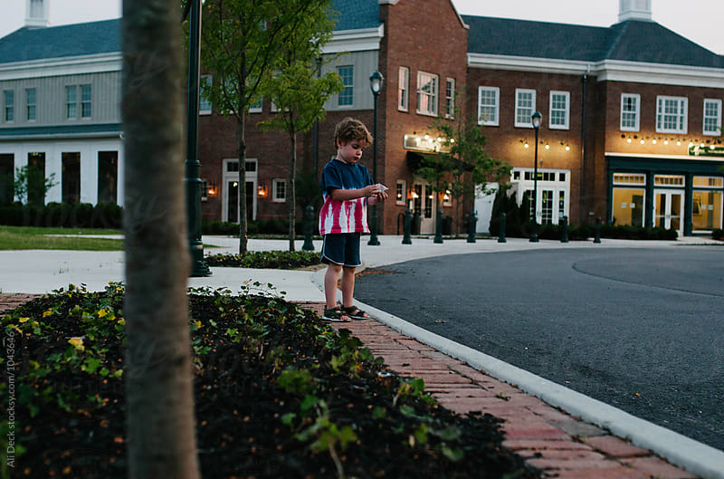 A Boy on the Fourth of July