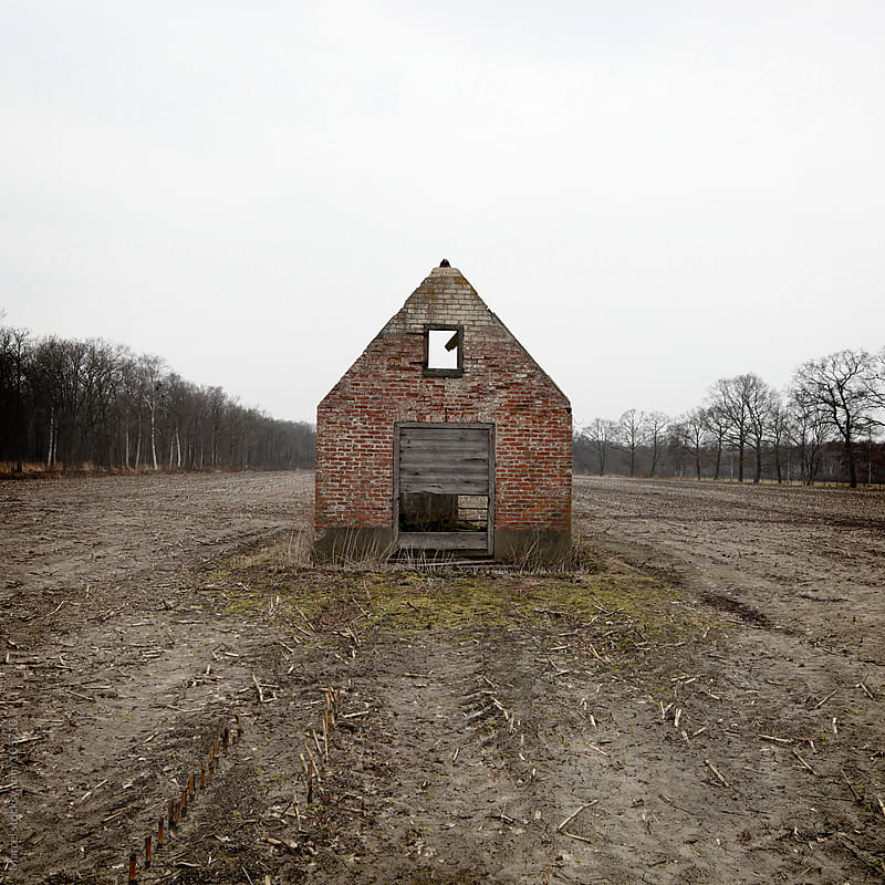 Little old barn by Marcel for Stocksy United