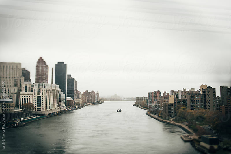 City Landscape with water by Isaiah & Taylor Photography for Stocksy United
