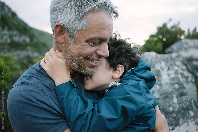 Father and Son by Bruce and Rebecca Meissner for Stocksy United