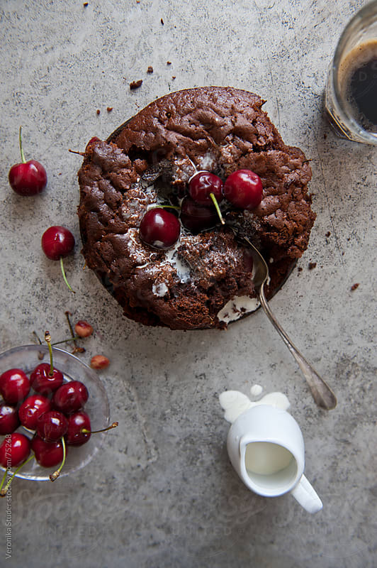 Chocolate mess by Veronika Studer for Stocksy United