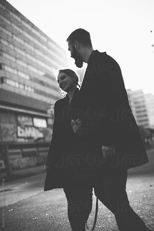Hipester couple portrait in Berlin by GIC for Stocksy United