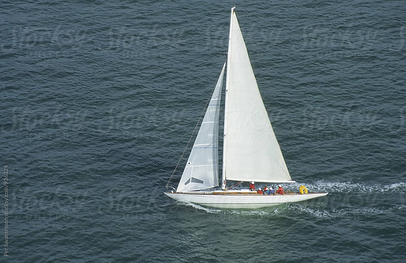 Sailing boat cruising by Per Swantesson for Stocksy United