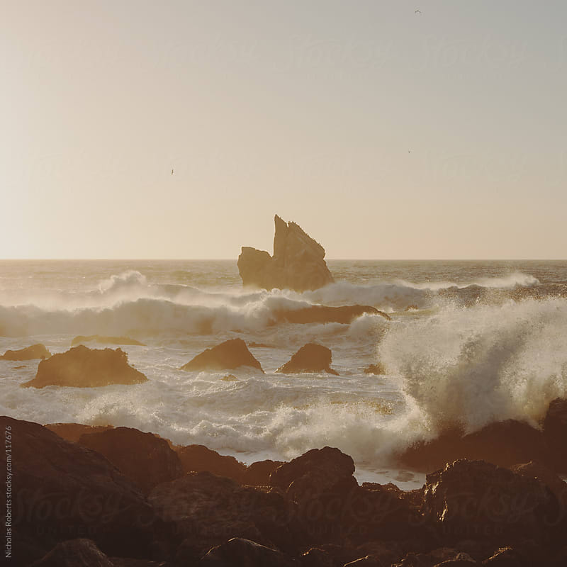 Ocean Rocks at Patrick's Point by Nicholas Roberts for Stocksy United