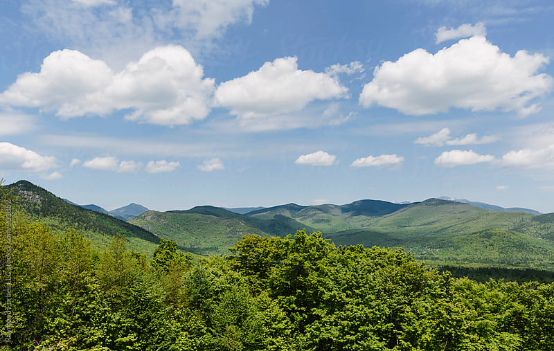 Late Spring in Mount Washington Valley  by Raymond Forbes LLC for Stocksy United