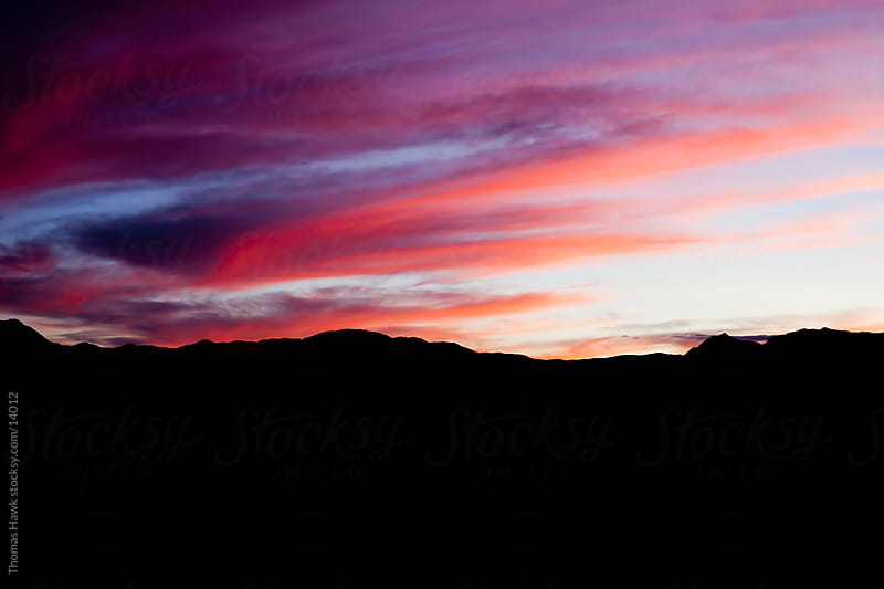 Death Valley sunset by Thomas Hawk for Stocksy United