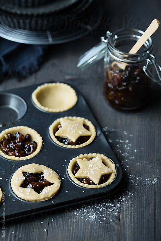 Christmas mince pies by Ruth Black for Stocksy United