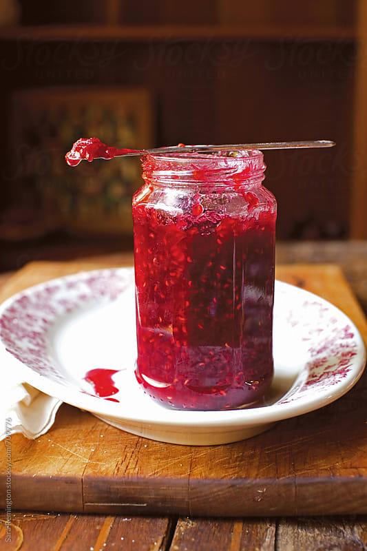 Raspberry Jam by Sara Remington for Stocksy United