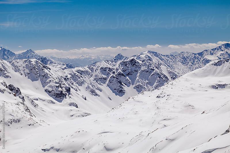 Alpine landscape by Davide Illini for Stocksy United
