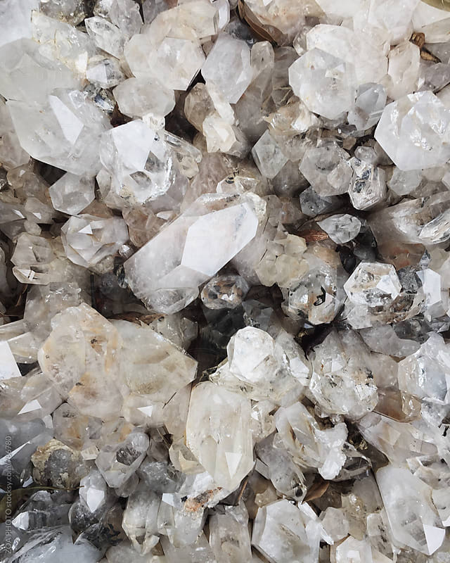 Quartz Crystal by ZOA PHOTO for Stocksy United