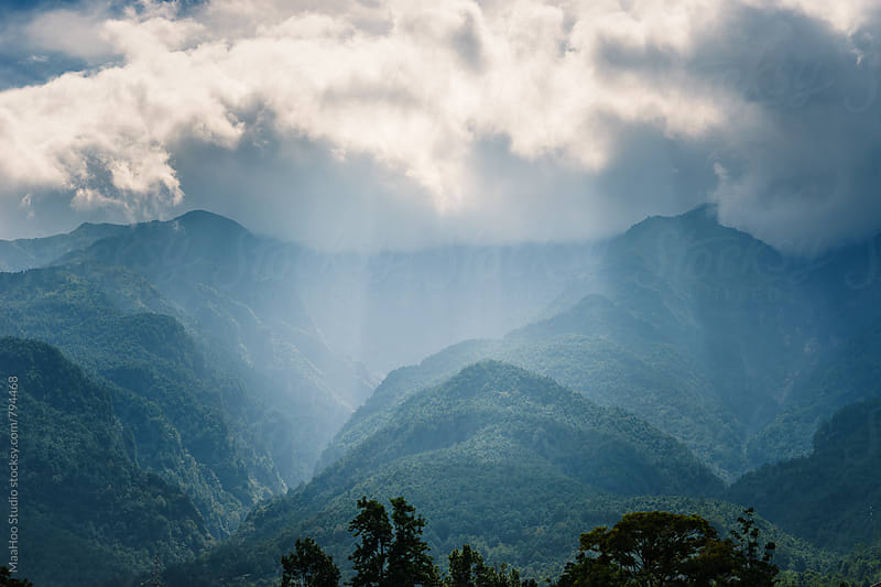 Mountain at Yunnan,China by Maa Hoo for Stocksy United