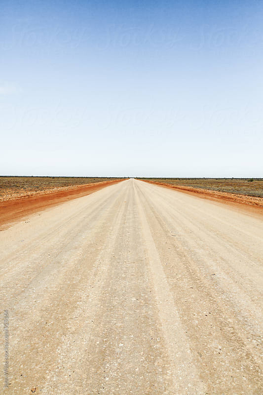 Outback road. Australia. by John White for Stocksy United