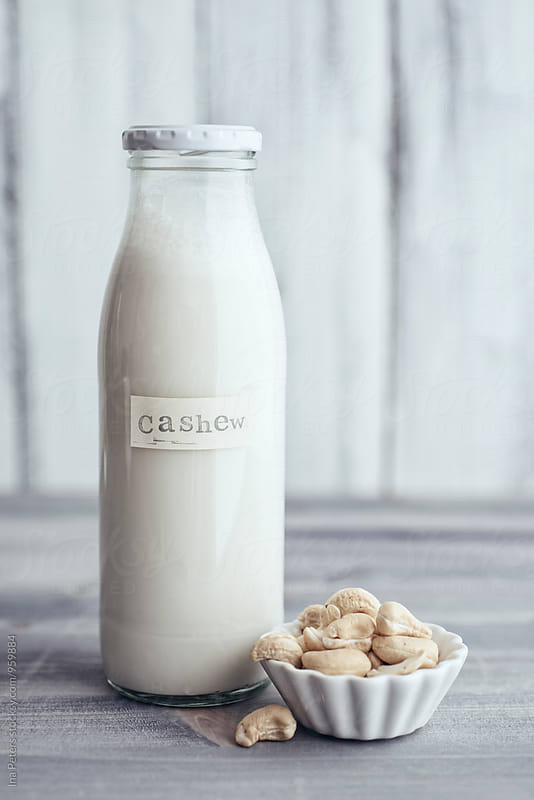 Food: Vegan Cashew Milk by Ina Peters for Stocksy United