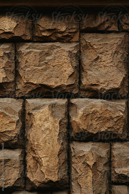 Stone wall for background  by Atakan-Erkut Uzun for Stocksy United