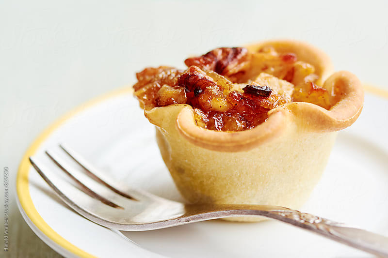 Mini Apple Tarts by Harald Walker for Stocksy United