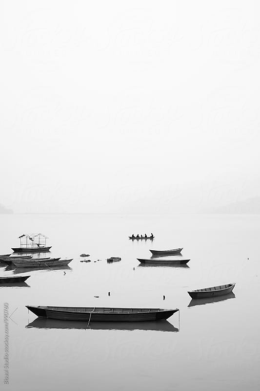 Phewa Lake, Pokhara by Bisual Studio for Stocksy United