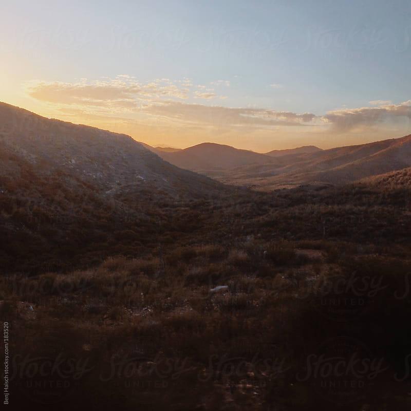 Rolling Desert Hills by Benj Haisch for Stocksy United