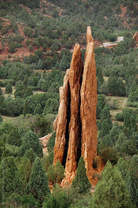 Garden of the Gods National Park by Per Swantesson for Stocksy United