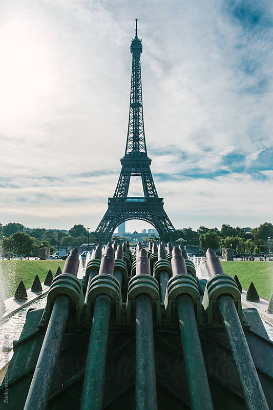 Eiffel Tower from Trocadero by Zocky for Stocksy United
