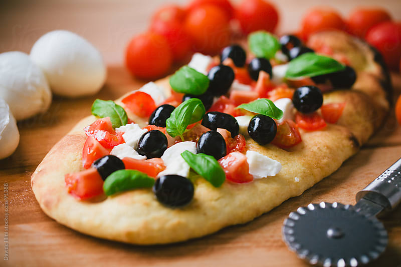 Italian Focaccia by Davide Illini for Stocksy United