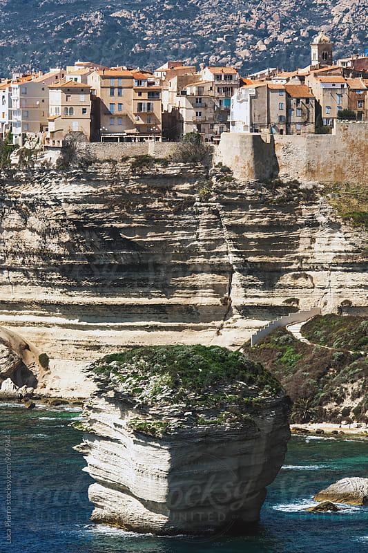 Bonifacio, Corsica by Luca Pierro for Stocksy United