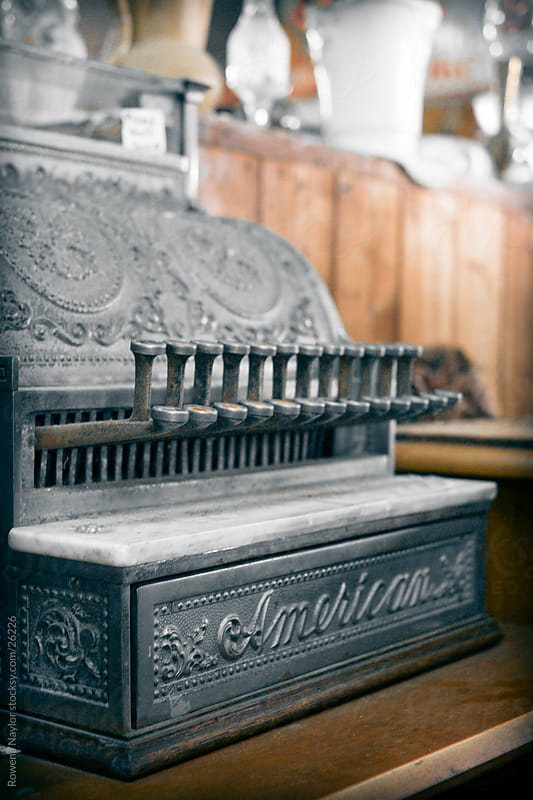 Antique Cash Register by Rowena Naylor for Stocksy United