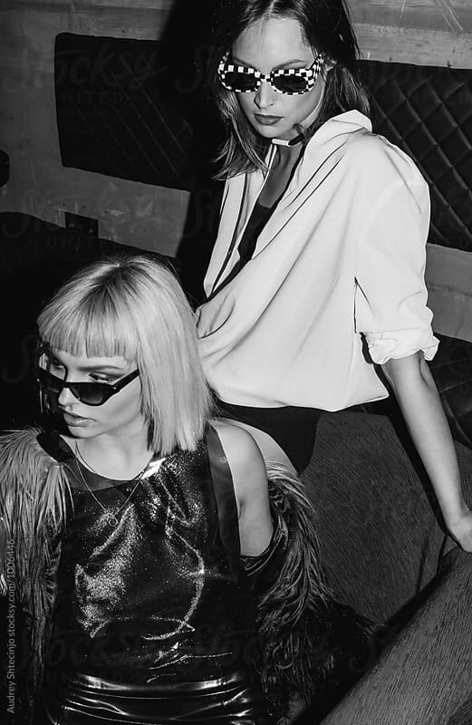 Girls just wanna have fun. by Marko Milanovic for Stocksy United
