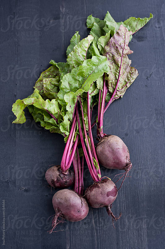 Food: Fresh Organic Red Beet, Beetroot by Ina Peters for Stocksy United