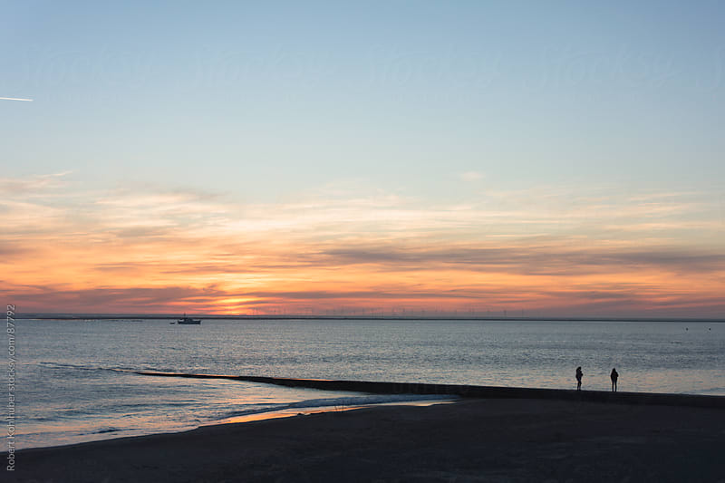 Sunset on north sea island by Robert Kohlhuber for Stocksy United