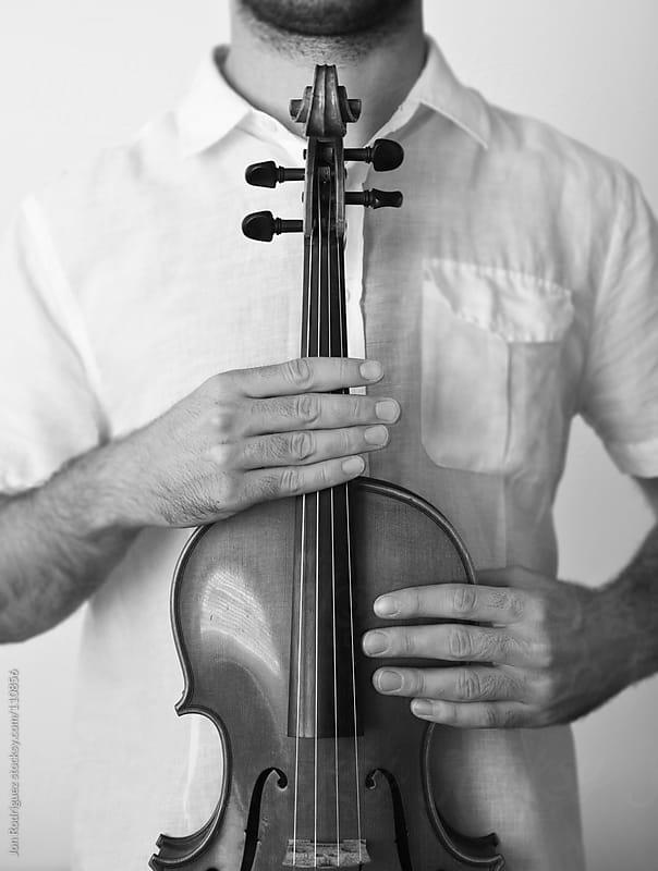 Violinist by Jon Rodriguez for Stocksy United