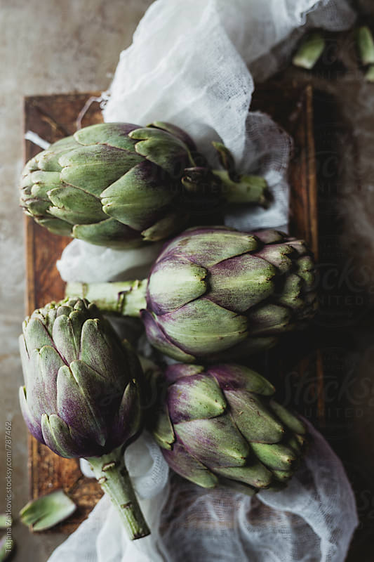 Artichokes by Tatjana Ristanic for Stocksy United