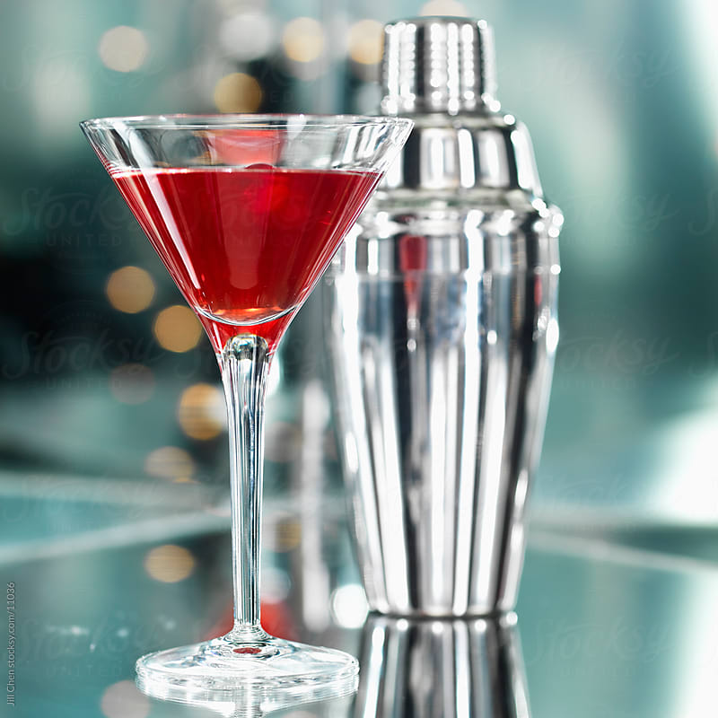 Red Martini by Jill Chen for Stocksy United