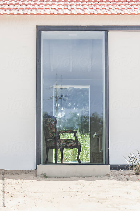 Chair in the Window by Agencia for Stocksy United