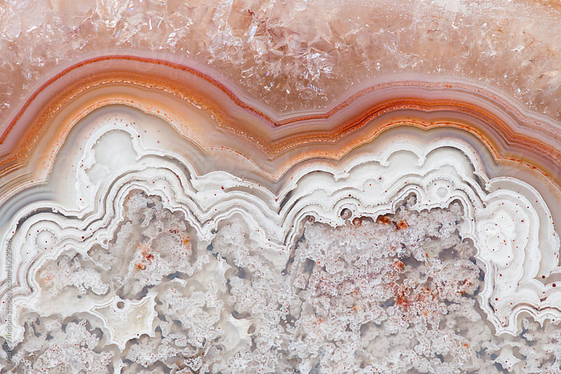 Agate macro by Mark Windom for Stocksy United