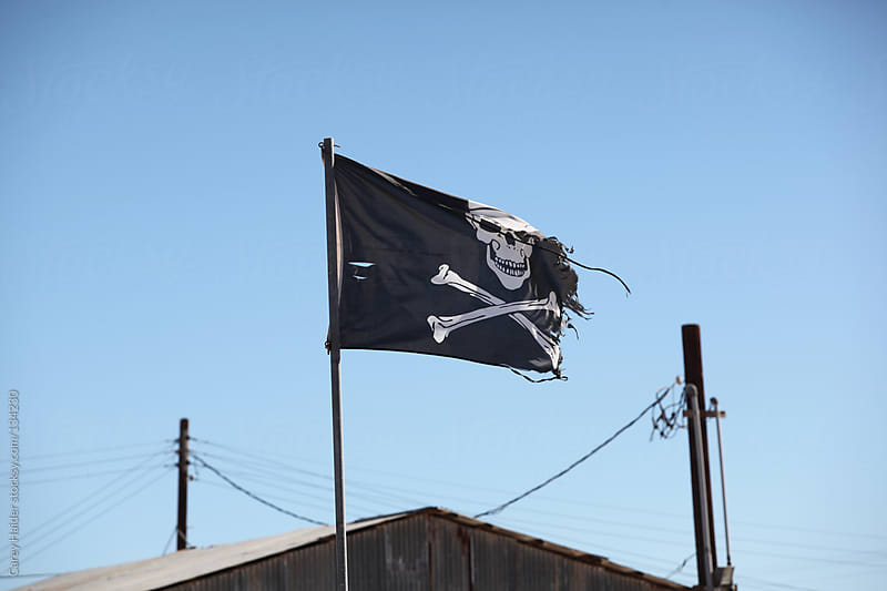 Pirate Flag by Carey Haider for Stocksy United