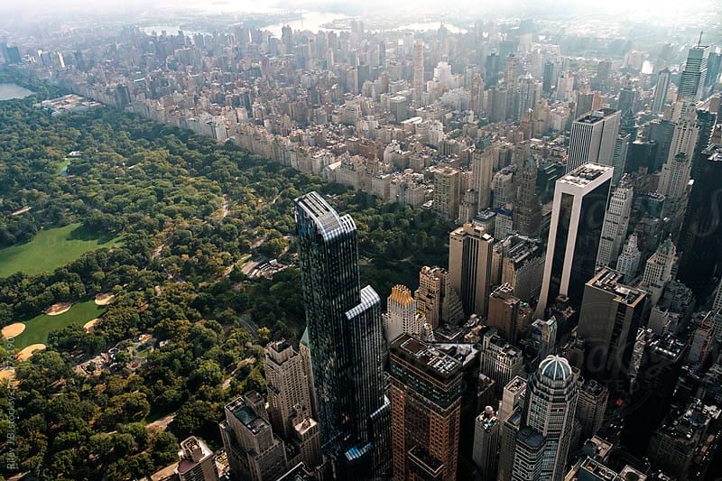 The southwest corner of Central Park by Riley J.B. for Stocksy United