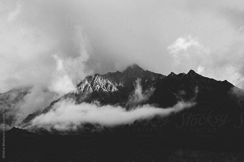 A patch of sunlight in the mountains. by Shikhar Bhattarai for Stocksy United