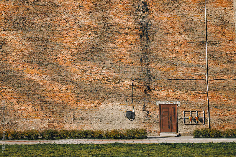 Photo of rural old brick wall by Danil Nevsky for Stocksy United