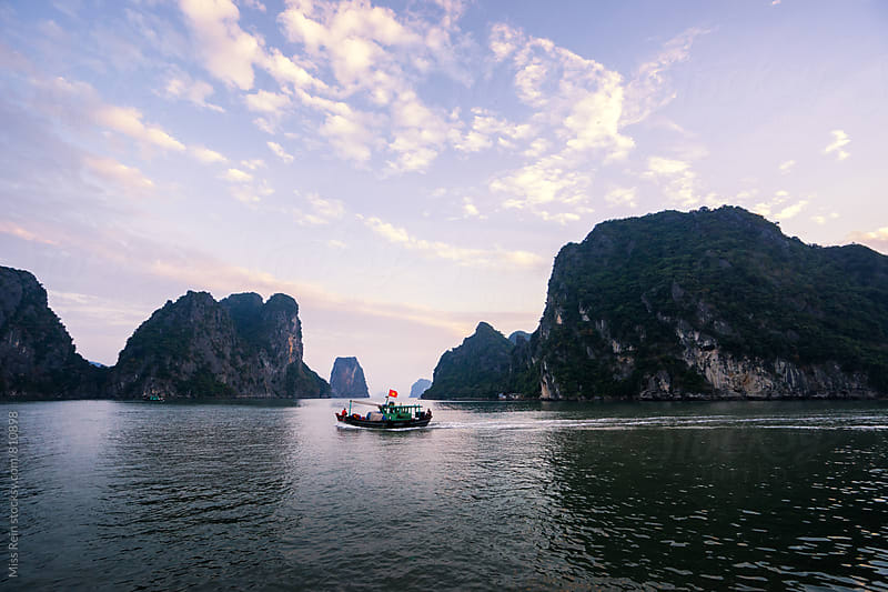 Vietnam, halong bay by Miss Rein for Stocksy United