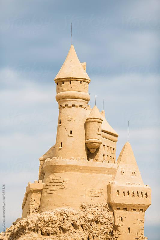 Sandcastle by Alexey Kuzma for Stocksy United