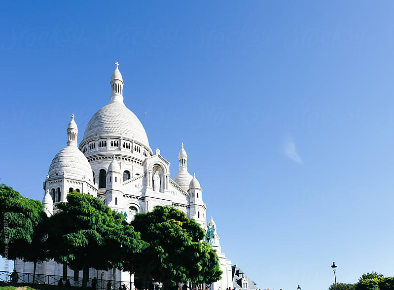 Sacre Coeur by Agencia for Stocksy United