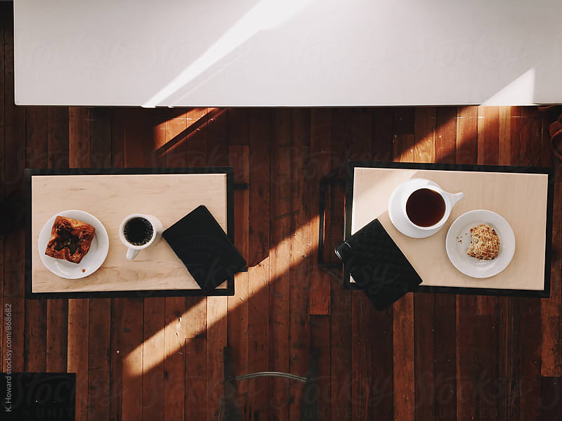 Coffee and Pastries. by K. Howard for Stocksy United