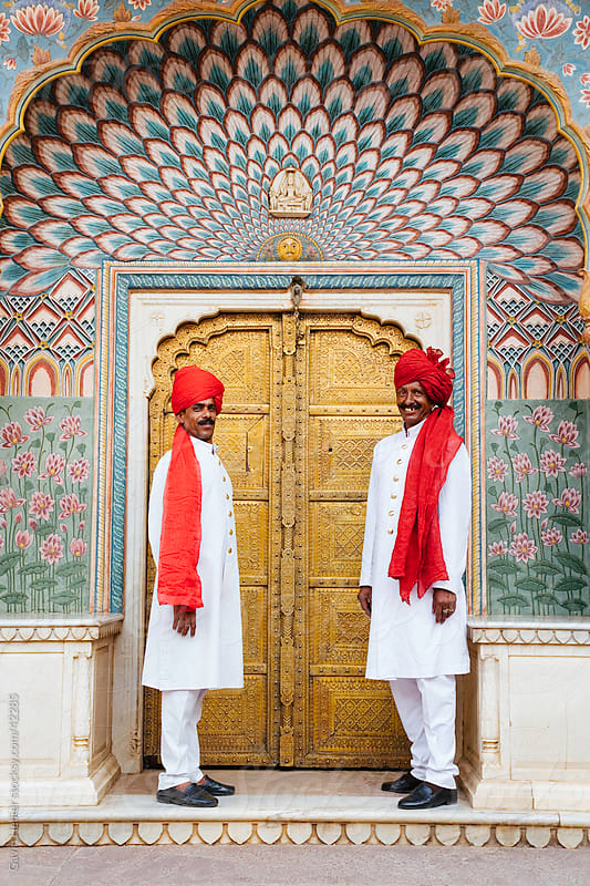 India, Rajasthan, Jaipur, City Palace by Gavin Hellier for Stocksy United