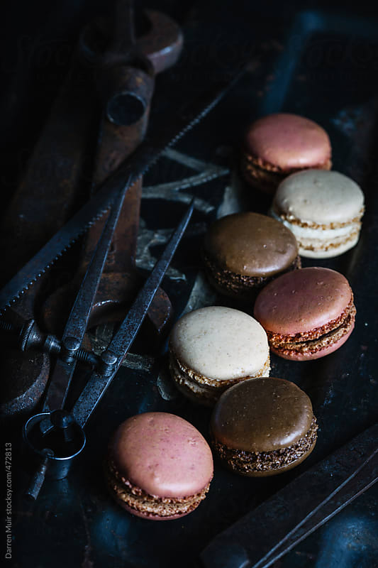 French macaroons.  by Darren Muir for Stocksy United