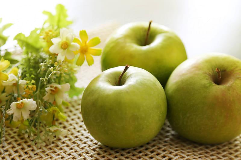 green apples by Sonja Lekovic for Stocksy United