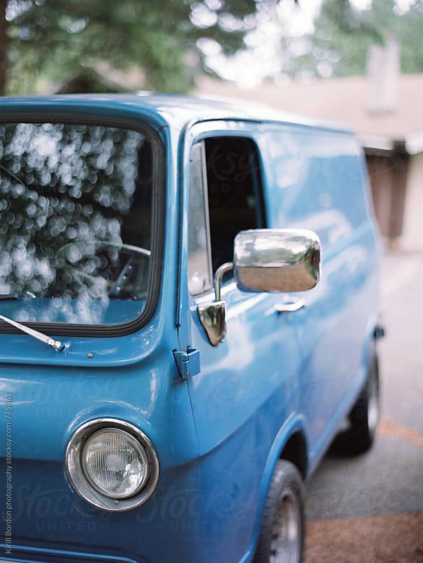vintage van by Kirill Bordon photography for Stocksy United